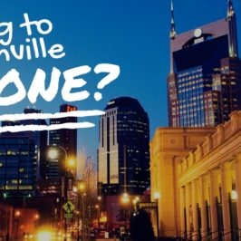 Moving to Nashville Alone? Don't stress!
