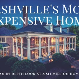 The Most Expensive Home In Nashville – 530 Jackson Blvd Nashville, TN 37205