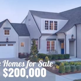 Nashville Homes for Sale Under 200 000