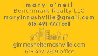 mary oneil nashville realtor